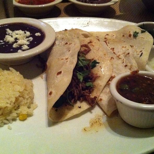 Tacos De Brisket @ Gloria's Restaurants