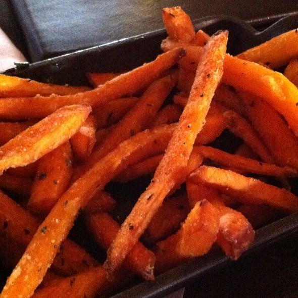 Sweet Potato Fries With Rosemary - Stark's Steakhouse, Santa Rosa, CA