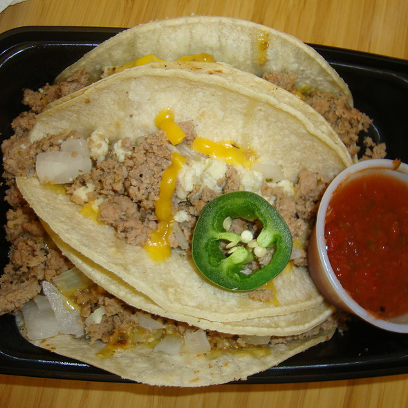 Ground Turkey & Egg White Breakfast Tacos @ My Fit Foods