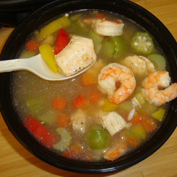 "Chicken & Shrimp ""Gumbo"" @ My Fit Foods"