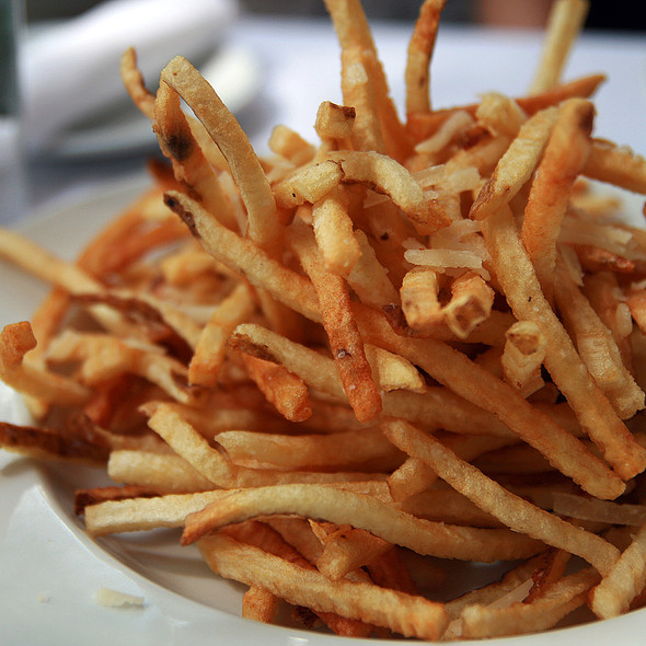 Truffle Fries @ Annie's Cafe & Bar
