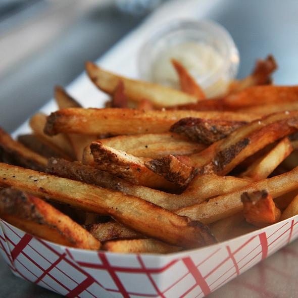 Belgium fries @ The Peached Tortilla