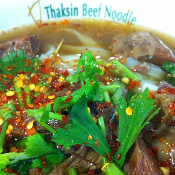 Thai Beef Noodle Soup @ Thaksin Beef Noodles