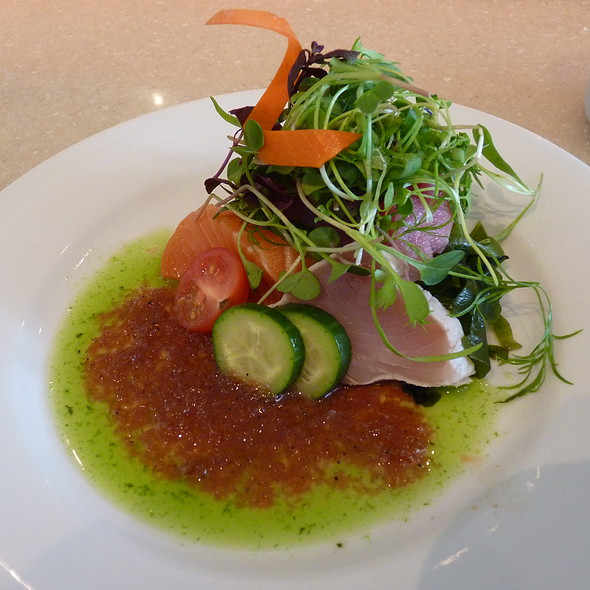 Sashimi Salad - Bluefin Restaurant, Newport Coast, CA