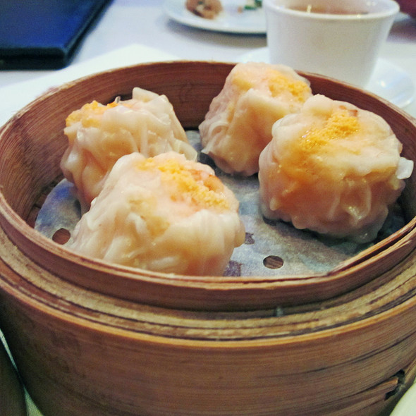 Steamed Siu Mai with Shark's Fin @ Golden Unicorn Restaurant Inc