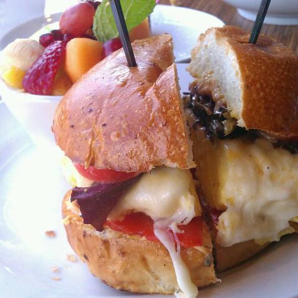 egg sandwich @ Taste Cafe & Marketplace
