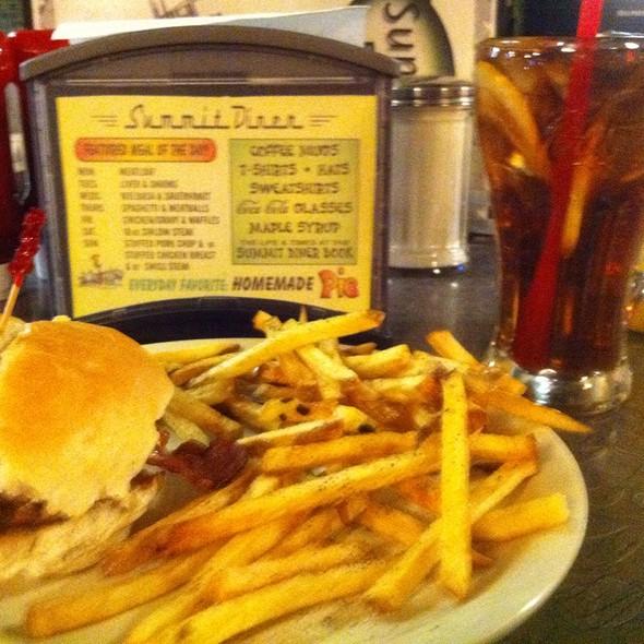 Super Bacon Cheeseburger @ Summit Diner
