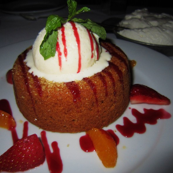 Warm Butter Cake - Mastro's Steakhouse - Costa Mesa, Costa Mesa, CA