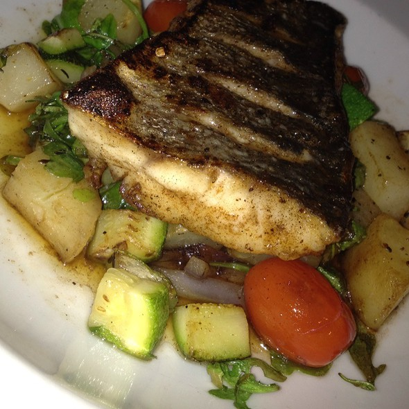 Speckled Trout Special - Osteria Cicchetti, Wilmington, NC