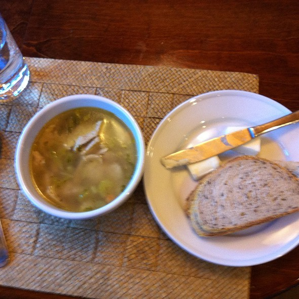 Matsa Ball Soup With Rie Bread  @ Vicente Foods