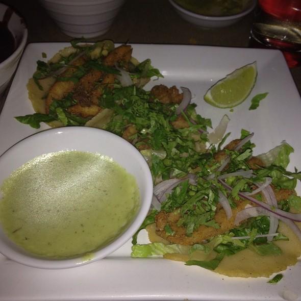 fish tacos @ La Camelia