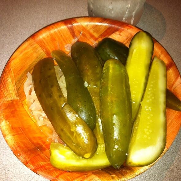 Pickles @ Juniors Deli