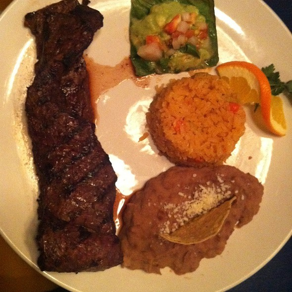 carne asada - Patron's Hacienda, Chicago, IL
