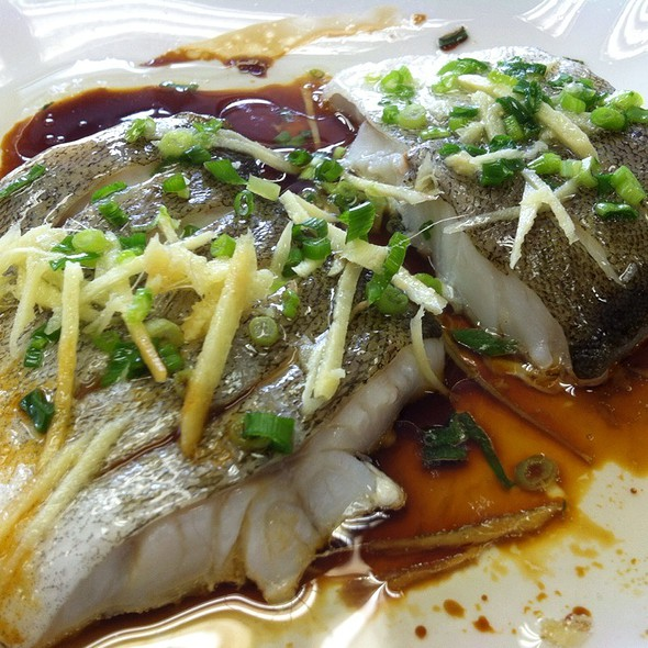 Steamed Pacific Cod W/ Ginger Scallion Soy Sauce @ Home Sweet Home