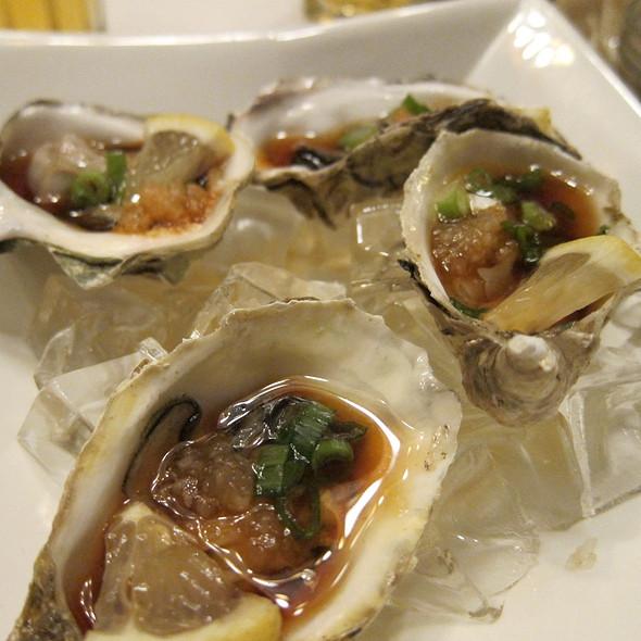 Fresh Oysters @ Yoshi Sushi Japanese Restaurant