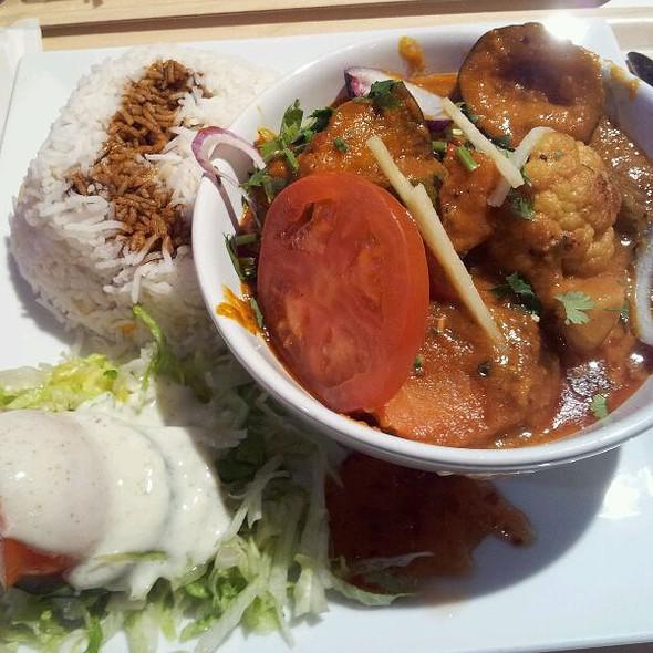 Vegetarian Curry @ Liljeholmens centrum [food court]