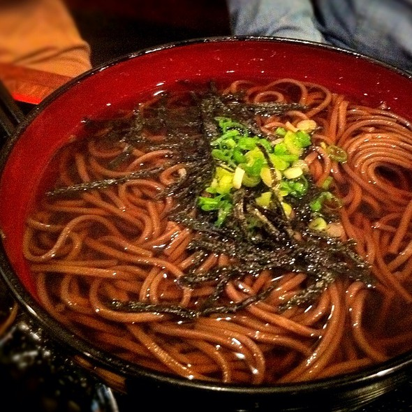 Hot Soba @ ABE Japanese Restaurant