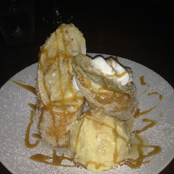 Banana Deep Fried Cheesecake