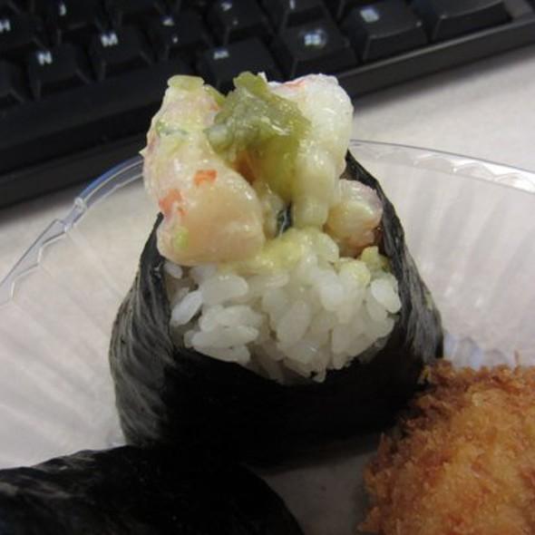 Wasabi Shrimp Omusubi