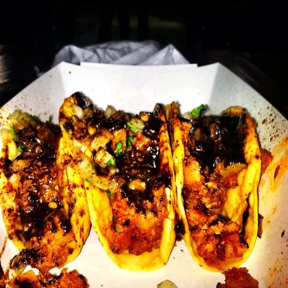 Soy Chorizo Taco @ Hugo's Tacos
