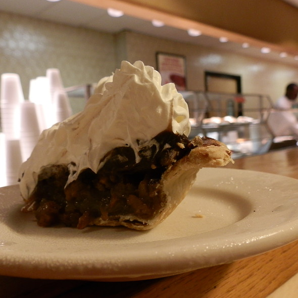 Chocolate Pecan Cream Pie  @ Picadilly Cafeteria