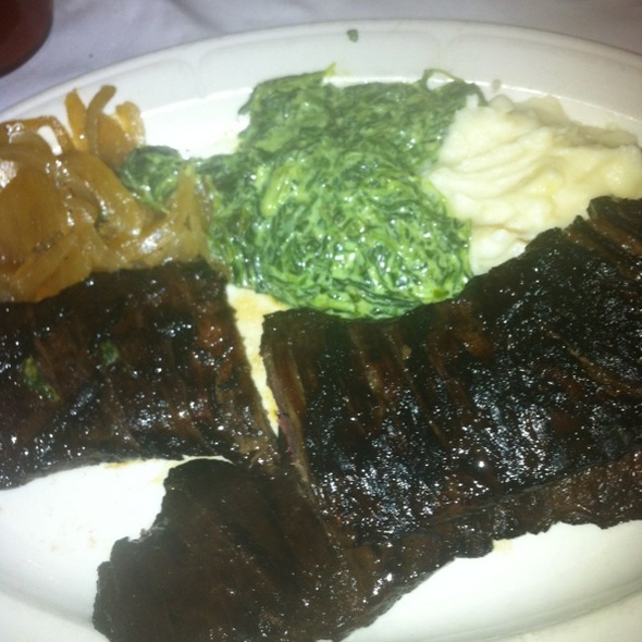 Romanian Skirt Steak - Frank's Steak House, Cambridge, MA