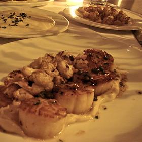 Scallops with Caramelized Cauliflower - Bluehour, Portland, OR