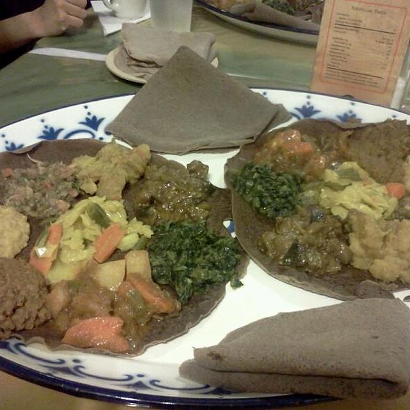 Atakelt Beyaynetu @ Aster's Ethiopian Restaurant