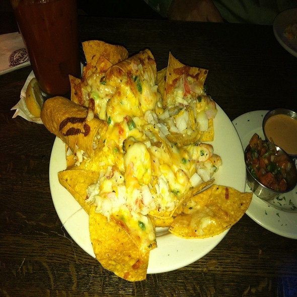 Shrimp And Crab Nachos - Jonah's Seafood House, East Peoria, IL
