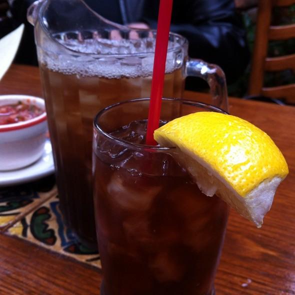 Iced tea - Pancho's, Manhattan Beach, CA