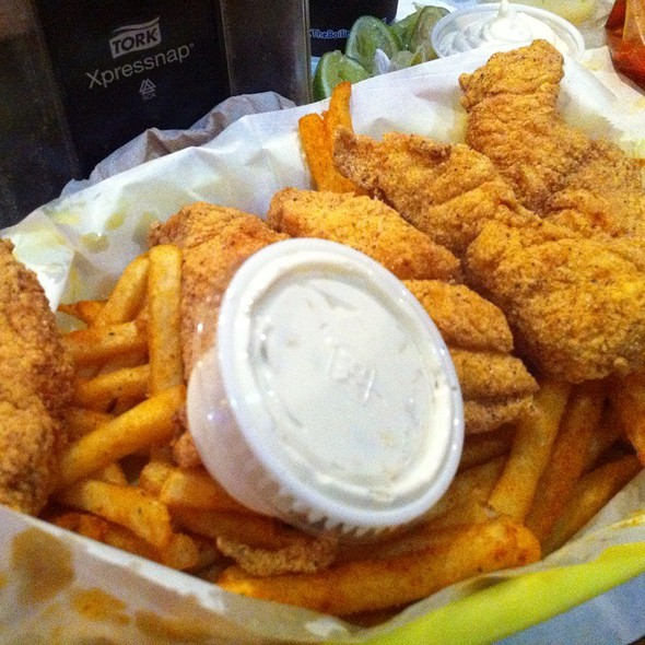 Fried Catfish Basket @ Boiling Crab The