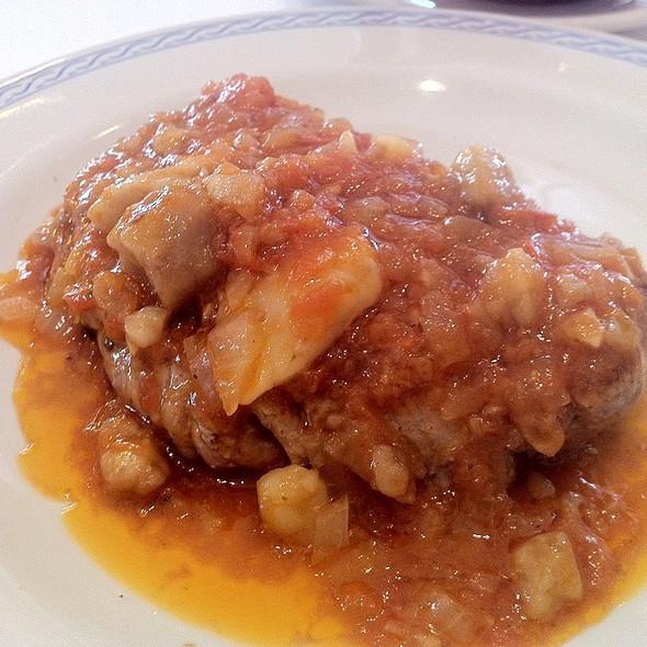 Veal Filet With Marrow Sauce @ El Cardenal, Av. De La Paz