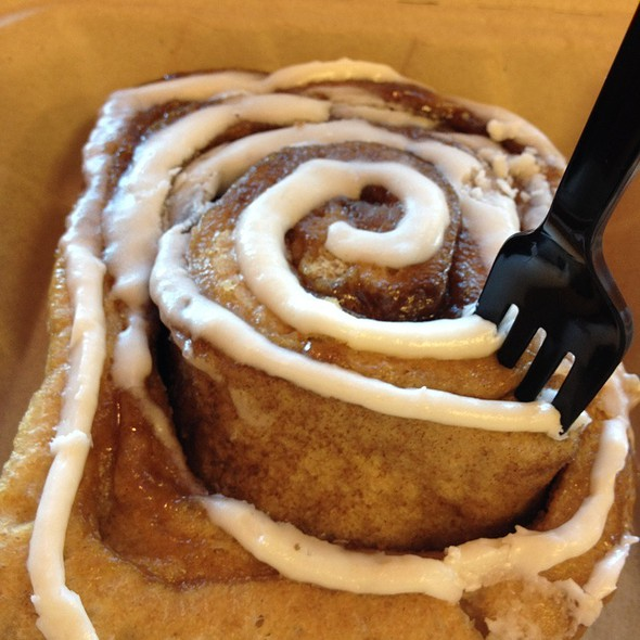 Giant Cinnamon Rolls @ Great Harvest Bread Co.