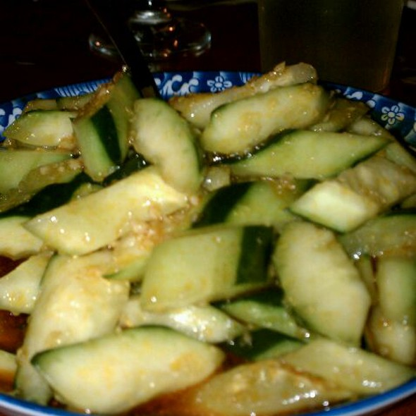 Spicy Cold Cucumber @ Han Dynasty Of Philadelphia