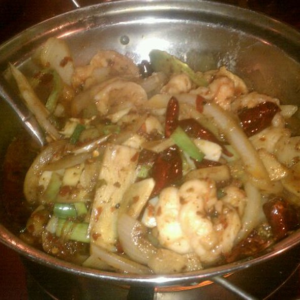 Shrimp Hot Pot @ Han Dynasty Of Philadelphia