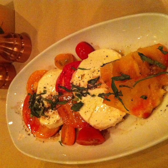 Heirloom Tomatoes & Mozarella - Lone Eagle Grille, Incline Village, NV