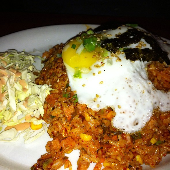 Kimchi Fried Rice with Egg @ Tonight Soju Bar
