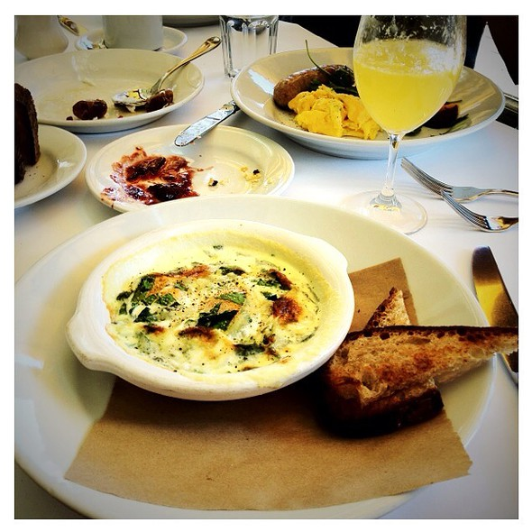 Baked Eggs @ Zuni Cafe