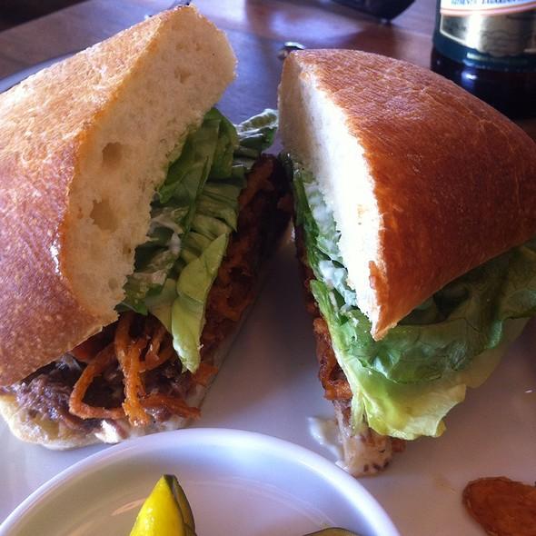 Shortrib Sandwich - Communal, Provo, UT