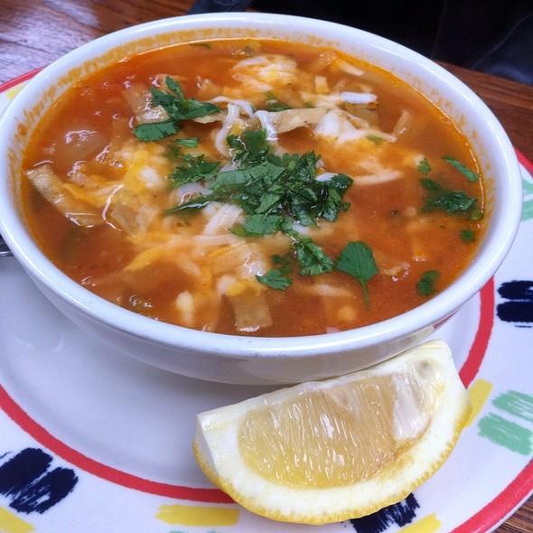 Tortillia Chicken Soup - Pancho's, Manhattan Beach, CA