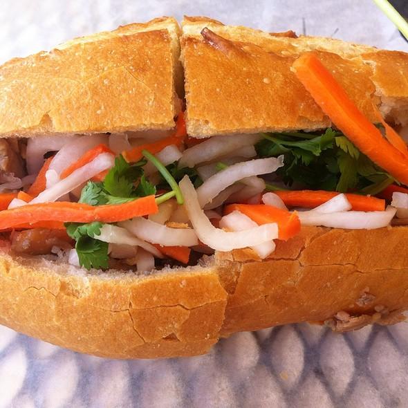 BBQ Sandwich @ Ba Le Sandwiches