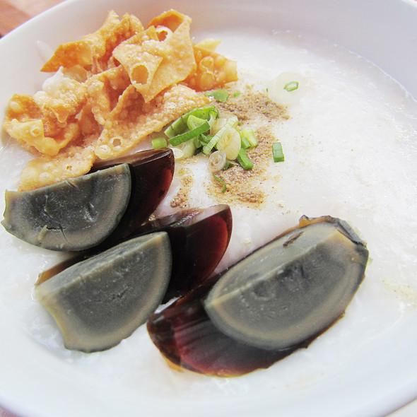 Bubur Ayam Hongkong @ Chef's Table