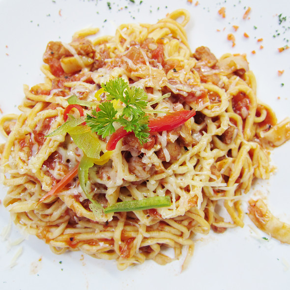 Spaghetti with Tuna @ Chef's Table