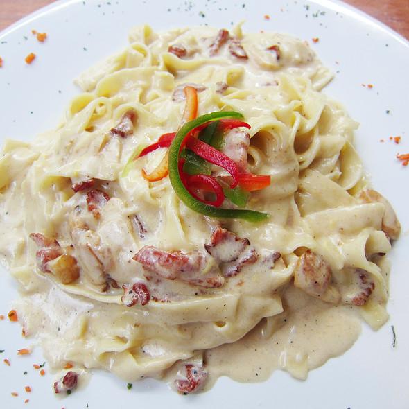 Fettucine Carbonara @ Chef's Table
