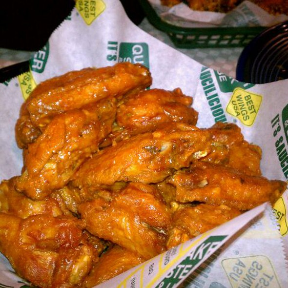 Wings - Supercharged + Golden Garlic Mix