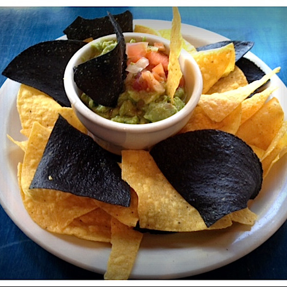 Guacamole and Chips @ Bogota Latin Bistro