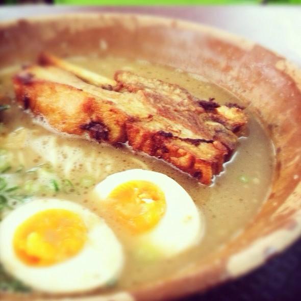 Pork Spare Ribs Tonkotsu Ramen @ Gumshara Ramen