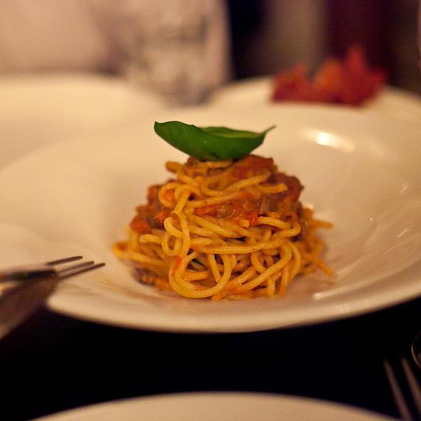 bigoli pasta - Buca, Toronto, ON