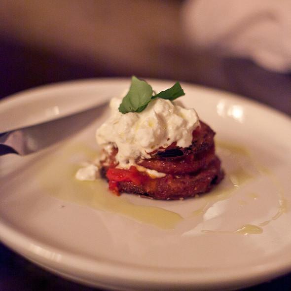 Parmigiana di melanzane - Buca, Toronto, ON