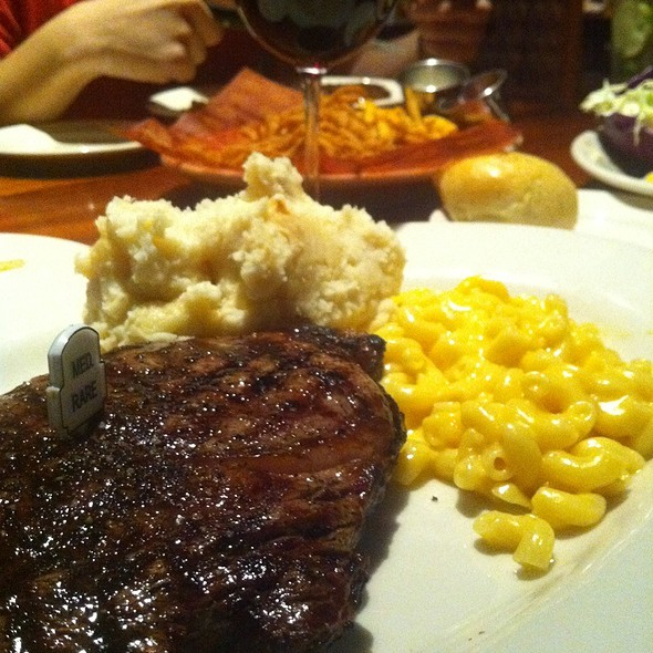 Ribeye - Med Rare at WOOD RANCH AND GRILL in Cerritos, CA - Josh Yu - Foodspotting